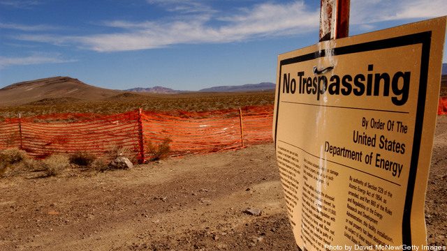 Proposed Radioactive Waste Site in Nevada