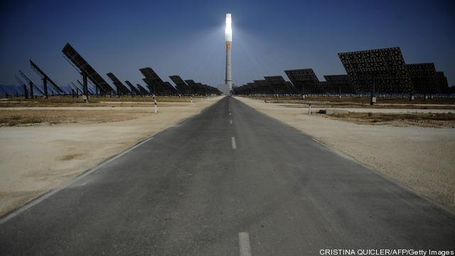 View of the Torresol Energy Gemasolar th
