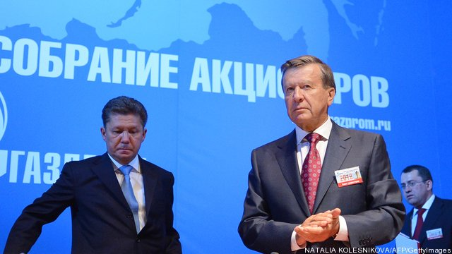 Russia's gas giant Gazprom chairman and