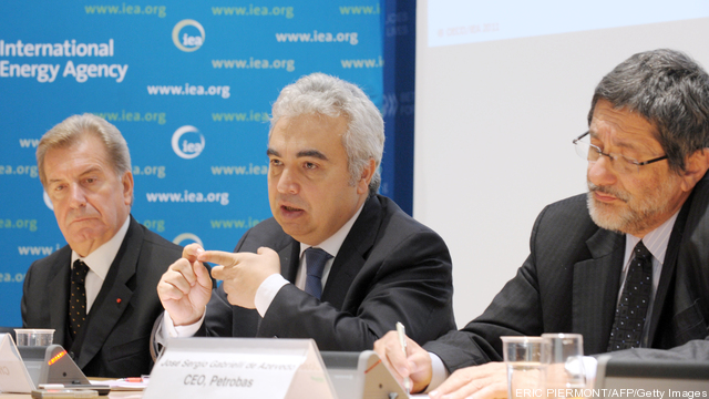 International Energy Agency IEA Chief Ec