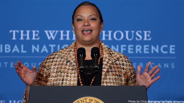 Obama Hosts White House Tribal Nations Conference In Washington