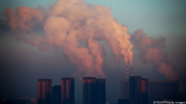 CHINA-ENVIRONMENT-THEME-POLLUTION