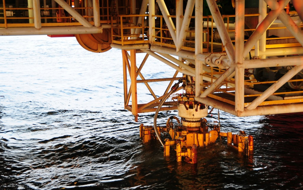 BP Blow Out Preventer From The Deepwater Horizon Oil Rig Recovered