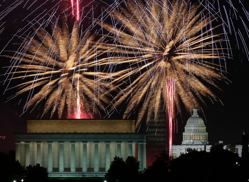 The Nation's Capitol Celebrates 4th Of July With Fireworks Display