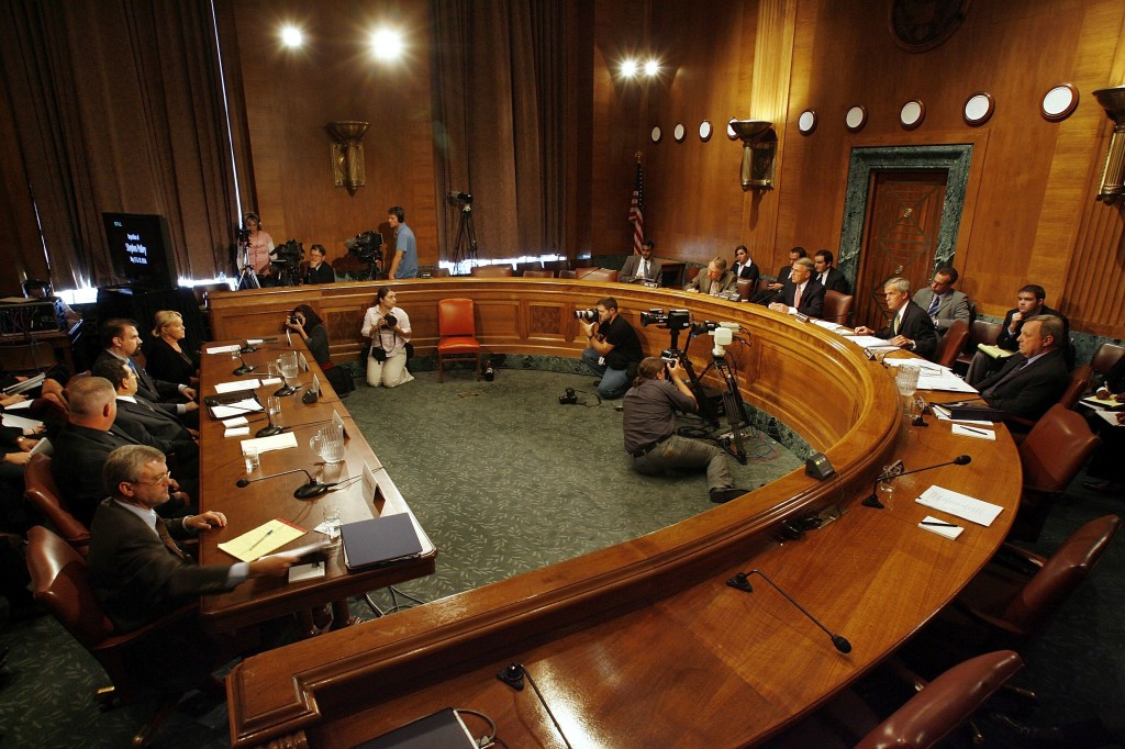 Senate Democrats Hold Hearing On Contractors In Iraq