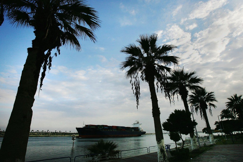 Oil Price Rise Sees Increase in Suez Canal Traffic