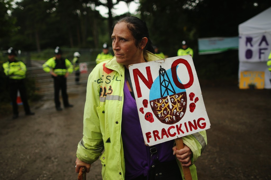 Fracking Protests Continue In Sussex