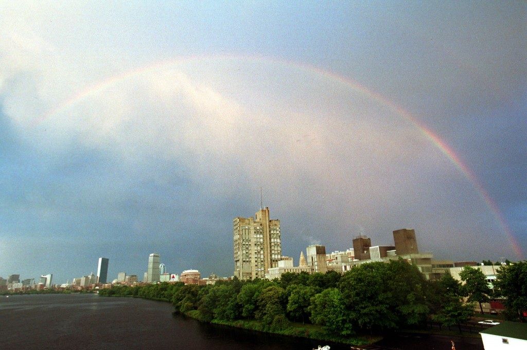 Rainbow Over Boston