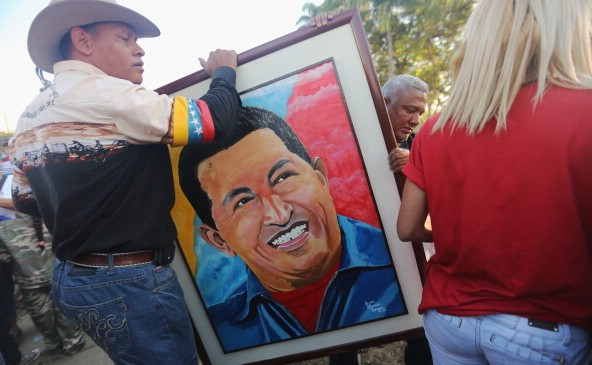 State Funeral Held For Hugo Chavez In Caracas
