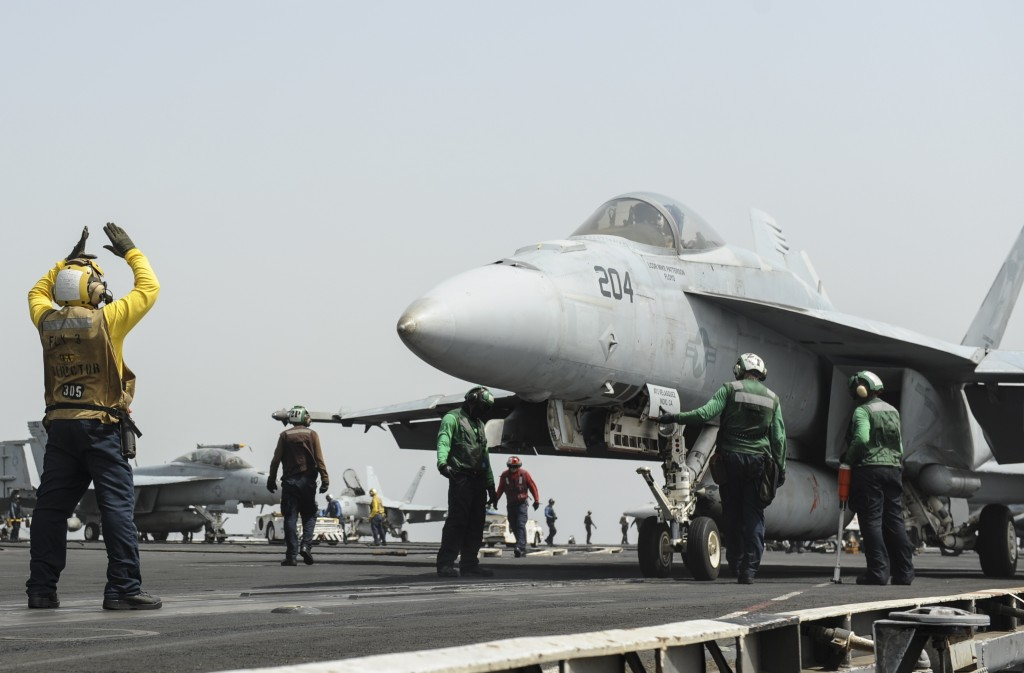 U.S. Navy Deploys Nimitz For Possible Strike On Syria