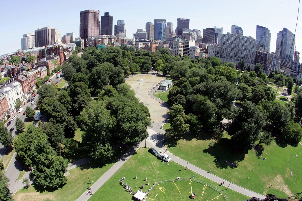 """Boston By Balloon"" Gives A Bird's Eye View Of The City"