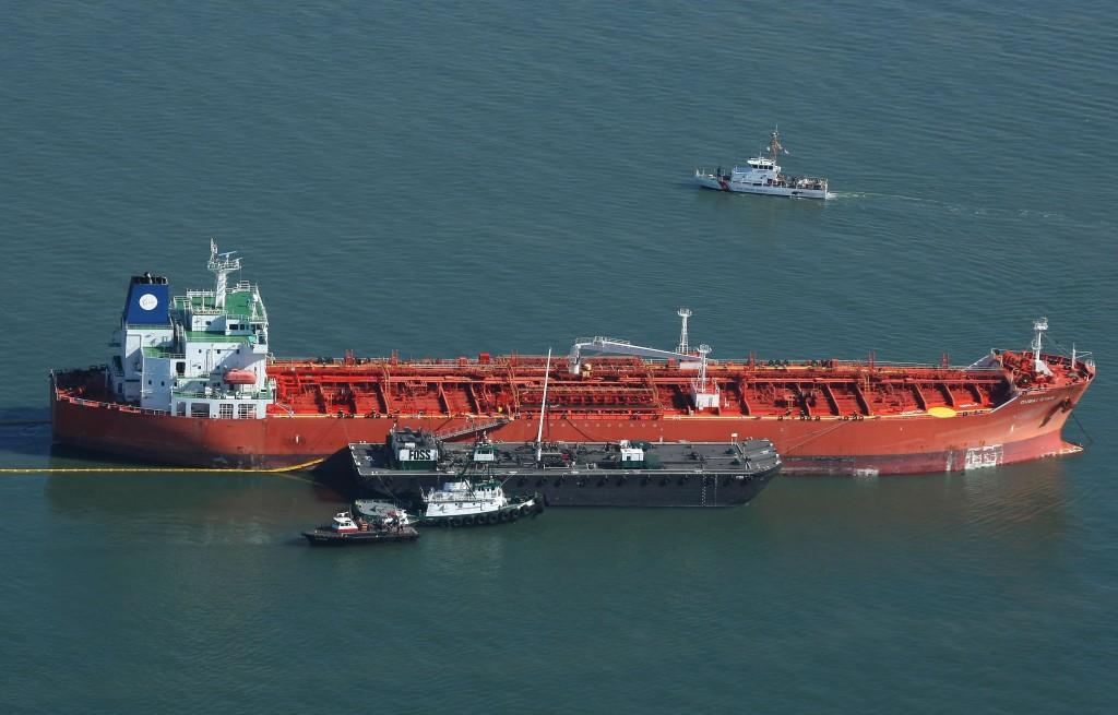 Tanker Spills Oil Into San Francisco Bay