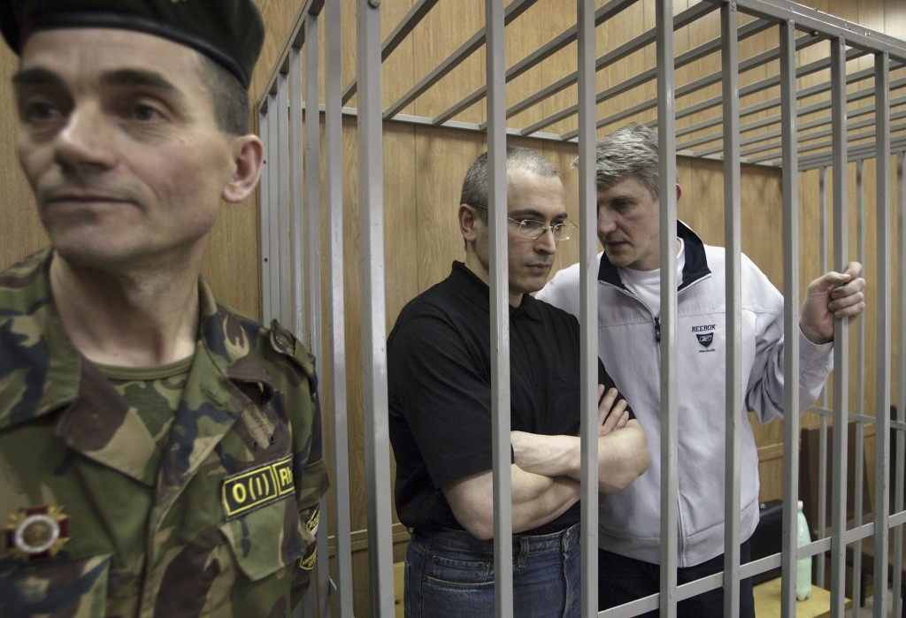 RUS: Khodorkovsky Returns To Moscow Courtroom