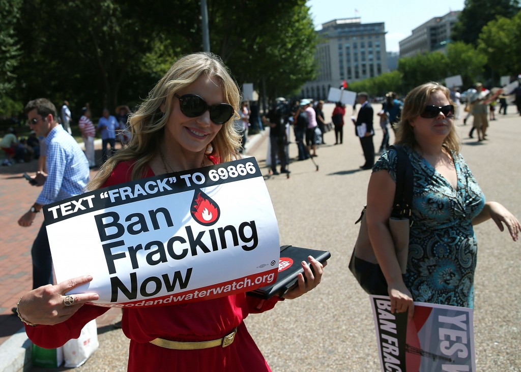 Anti-Fracking Activists Rally In Washington