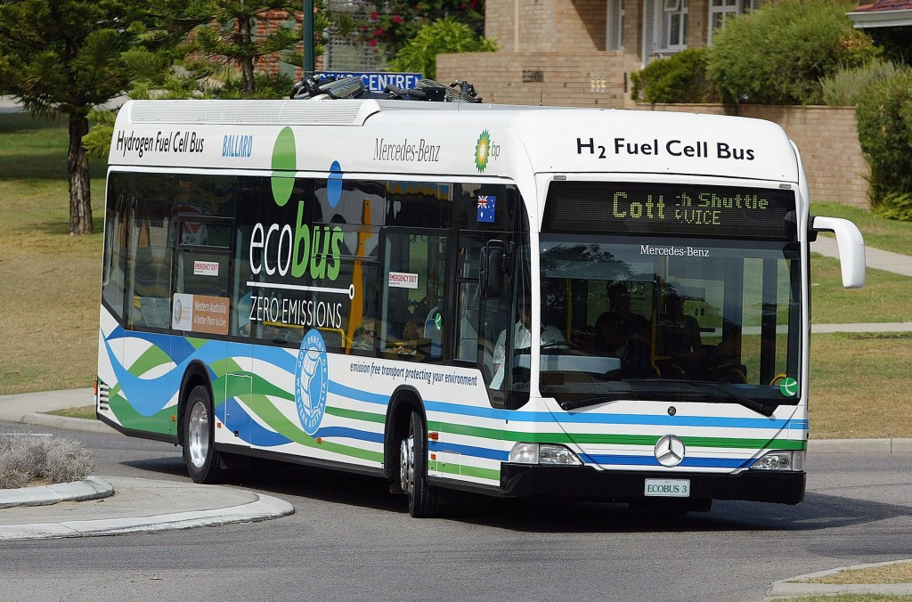 Hydrogen Fuel Cell Buses Tested In Perth