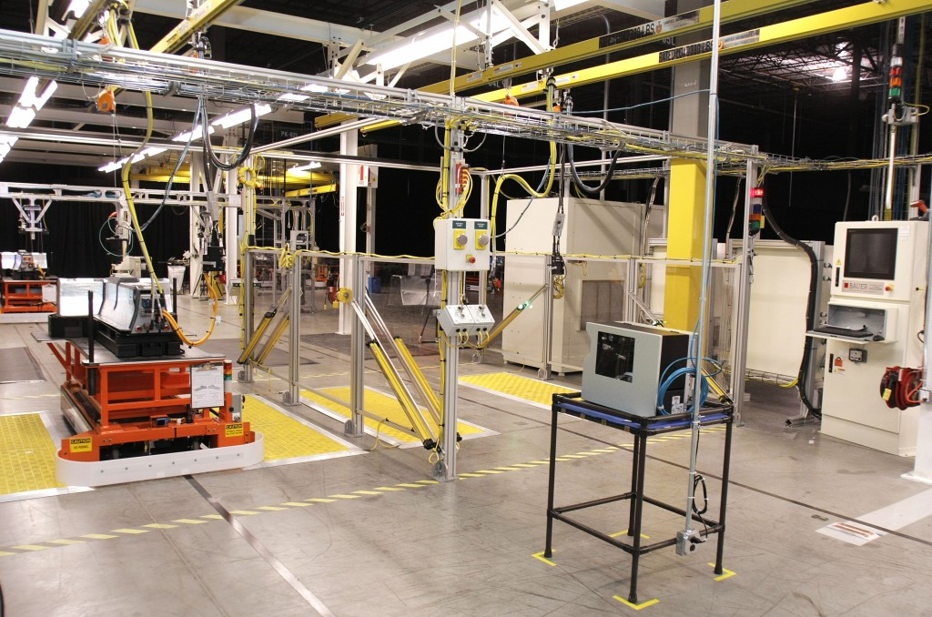 GM Battery Begins Assembly Of Electric Battery For Its Volt Car