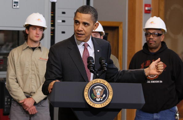 President Obama Discusses Clean Energy Jobs