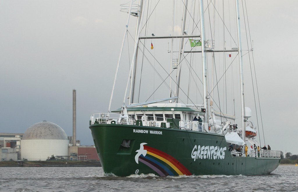 New Rainbow Warrior III Arrives At Hamburg Port