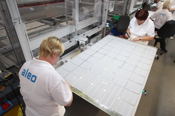 Aleo Produces Solar Panels