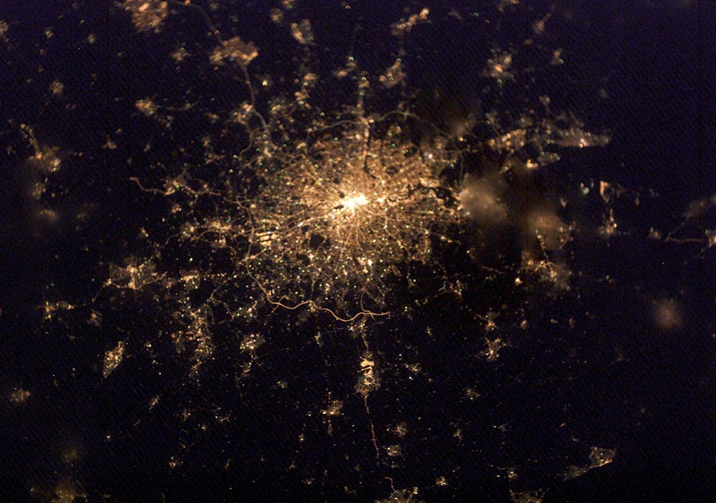 Space Station Crew Captures Image Of London At Night