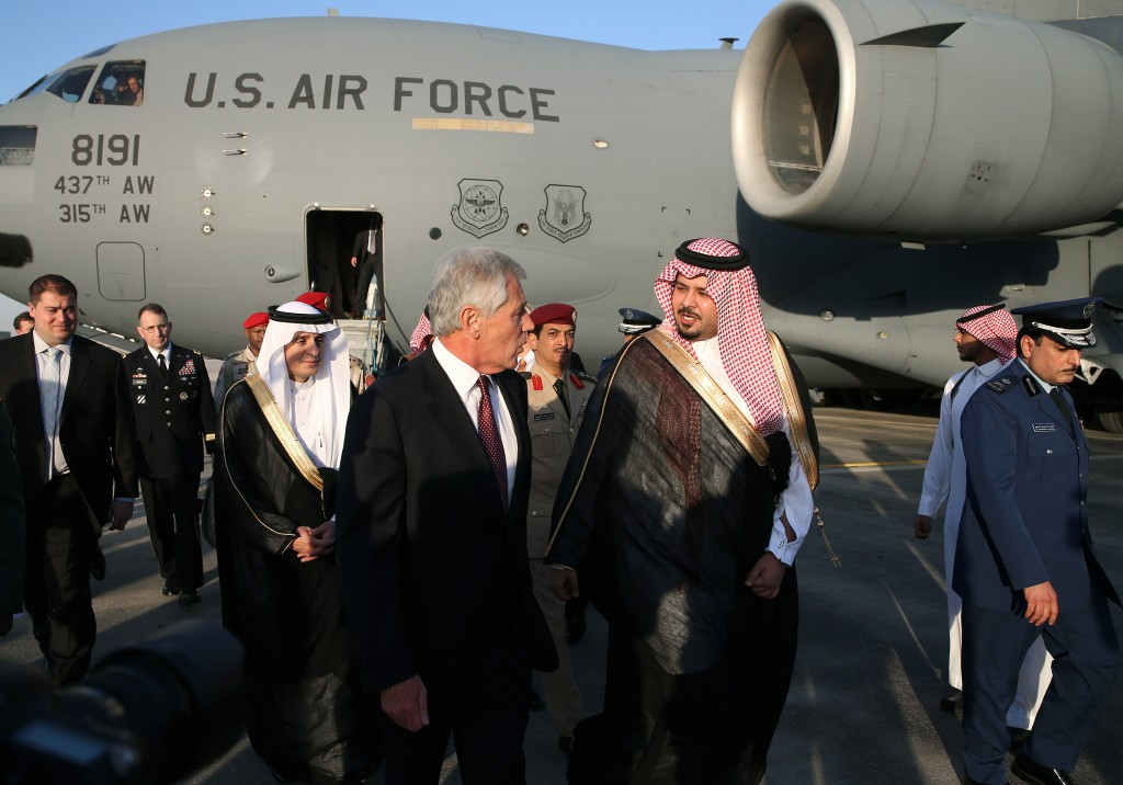 US Defense Secretary Chuck Hagel Travels To Middle East