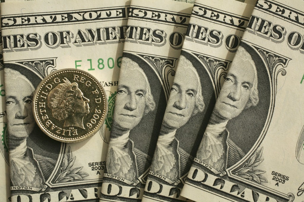 UK Pound Rises Above Two Dollars