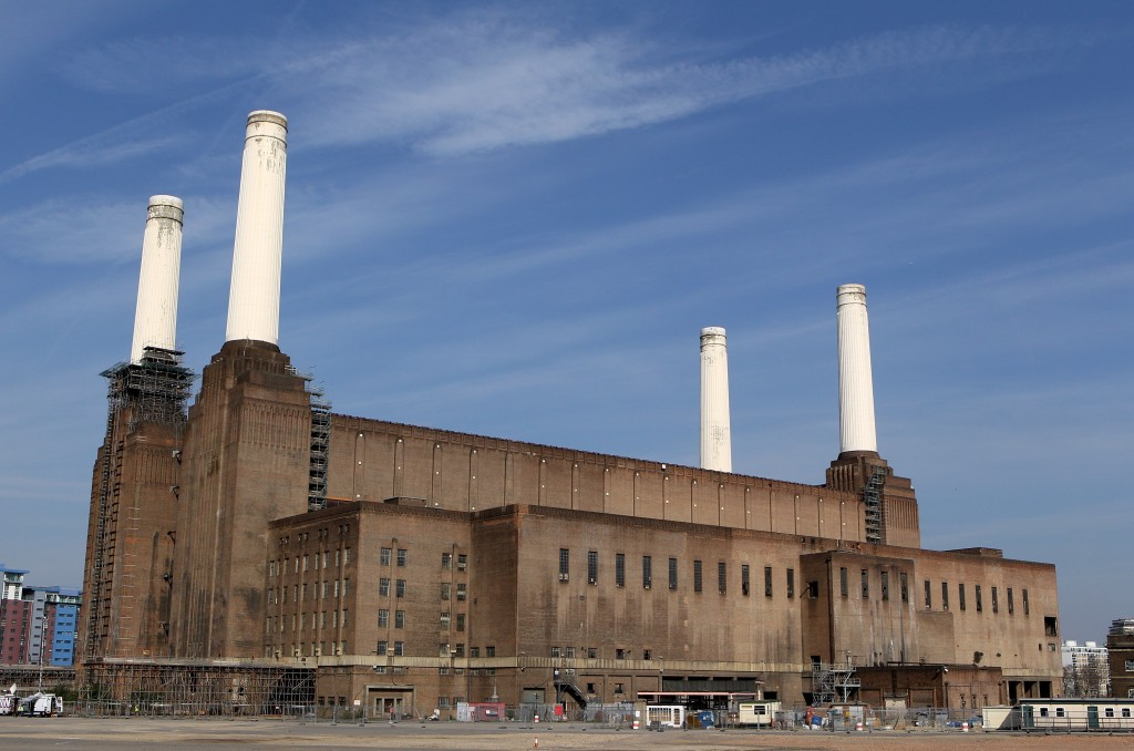 A General View of Battersea Power Station