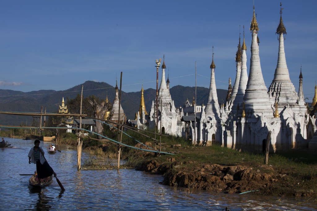 Life On Inle Lake In Myanmar