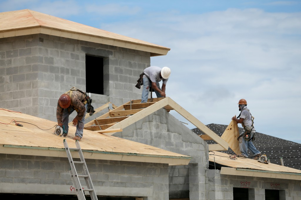 Construction Of New Homes Continued To Rise In August