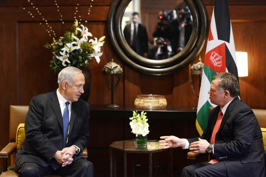 Benjamin Netanyahu Visits Jordan