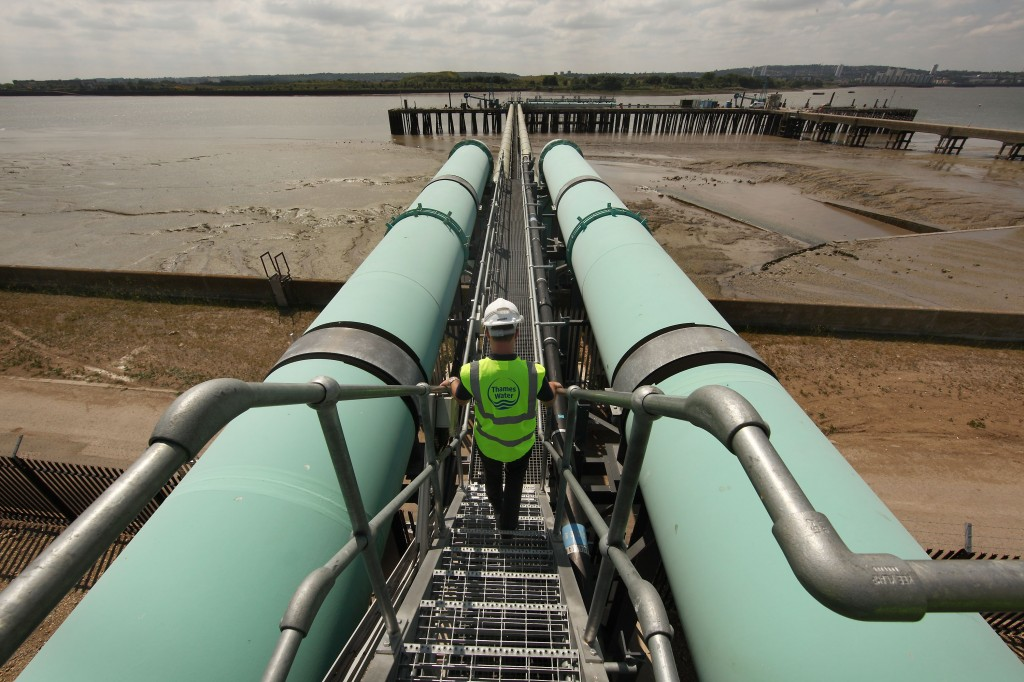 UK's First Large-Scale Desalination Plant In Operation