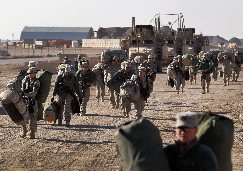 U.S. Forces Prepare To Withdraw From Iraq After 8-Year Presence