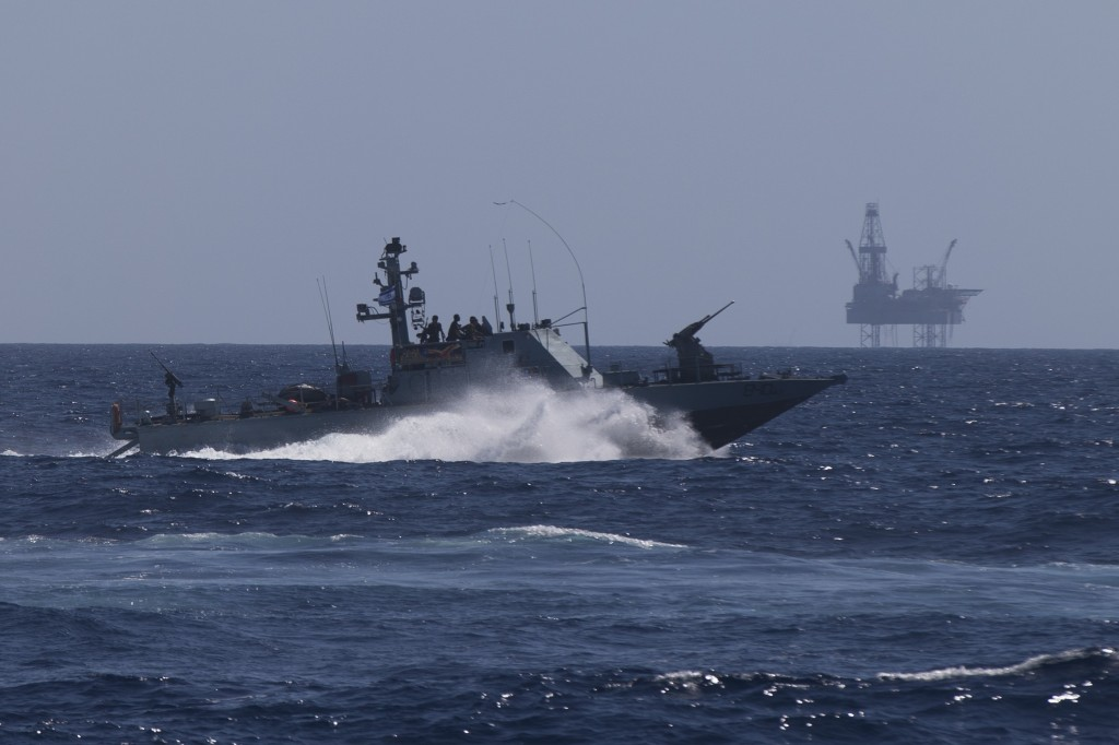 Israeli Navy Holds Training Exercise