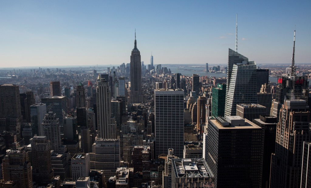 Sun Blankets New York City, Ahead Of Cold Front Returning Despite Start Of Spring