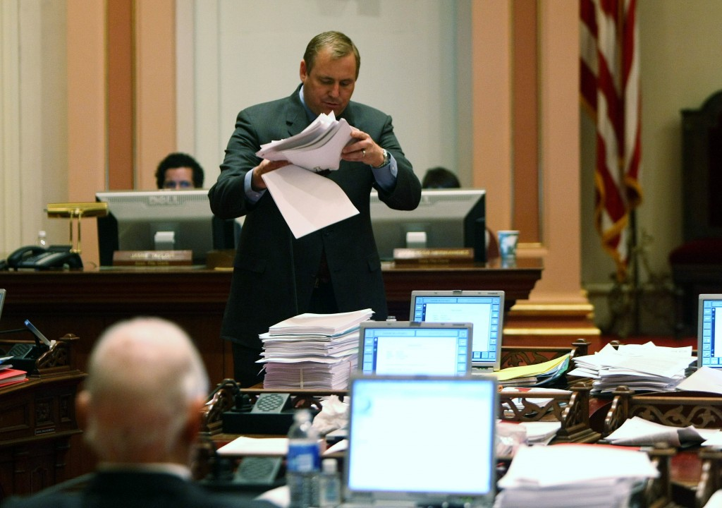 Lawmakers Continue To Negotiate State Budget As Gov. Prepares Layoffs