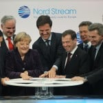 Merkel And Medvedev Inaugurate Nord Stream Gas Pipeline