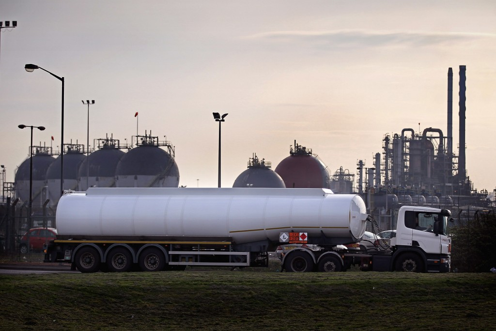 Tankers Leave Oil Refineries As Strike Action Looms