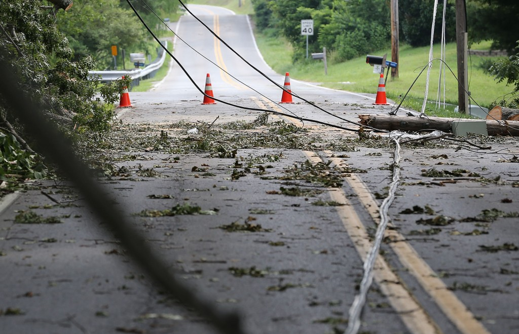 Clean Up Begins From Friday Storms That Knocked Power And Downed Trees Throughout Region