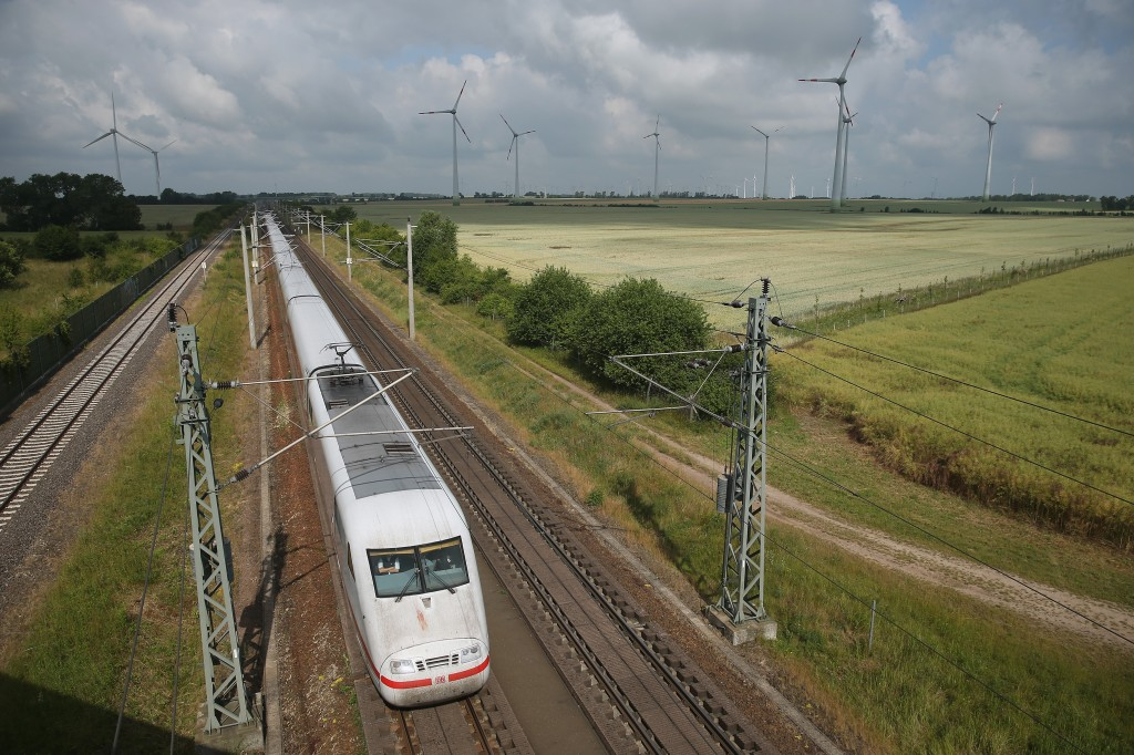 Deutsche Bahn ICE High Speed Train