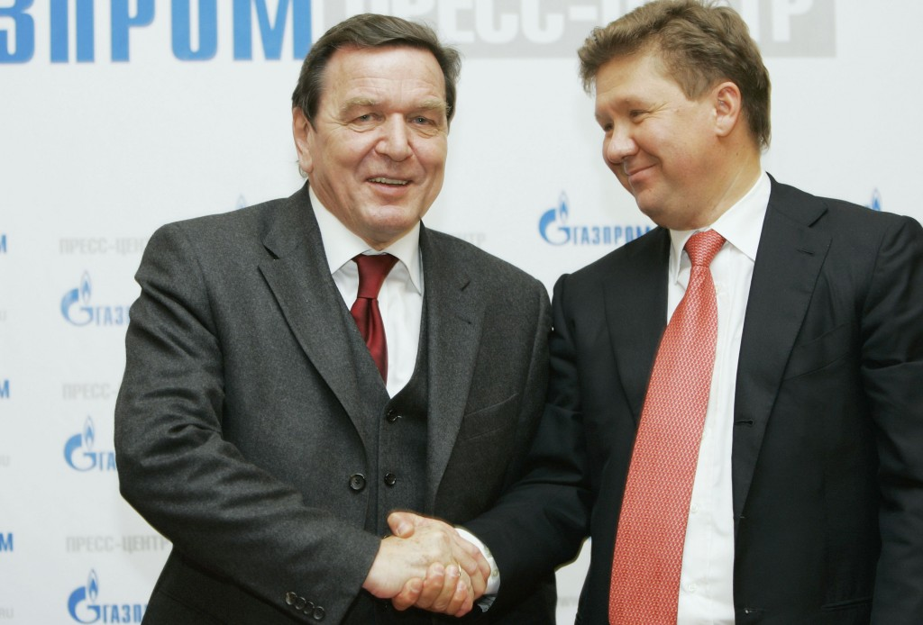 Gerhard Schroeder Becomes Head Of Russian-Led Gas Pipeline Project