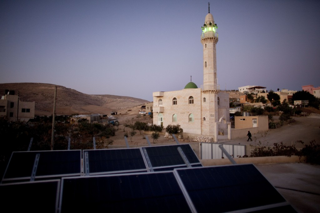 Solar Power Brings Light To Bedouin Arab Village