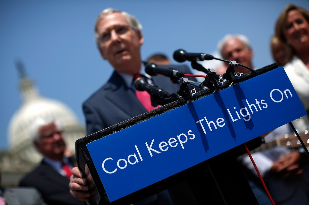 Mitch McConnell Argues Against Proposed EPA Carbon Standards For Power Plants