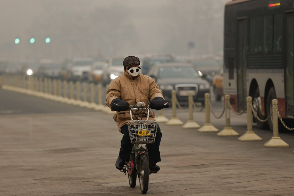 Beijing Enveloped In Heavy Smog