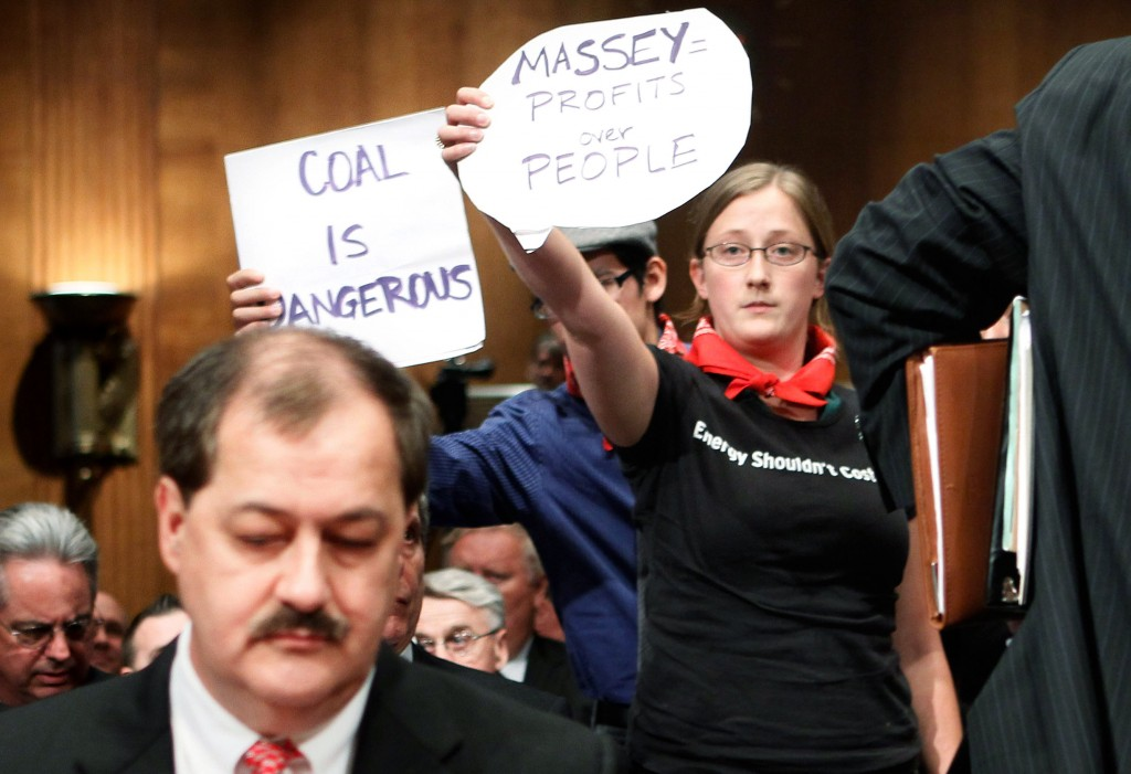 Massey Energy CEO Testifies At Senate Hearing On Mine Safety