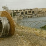 Soldiers Guard Hiditha Dam As It Undergoes Repairs