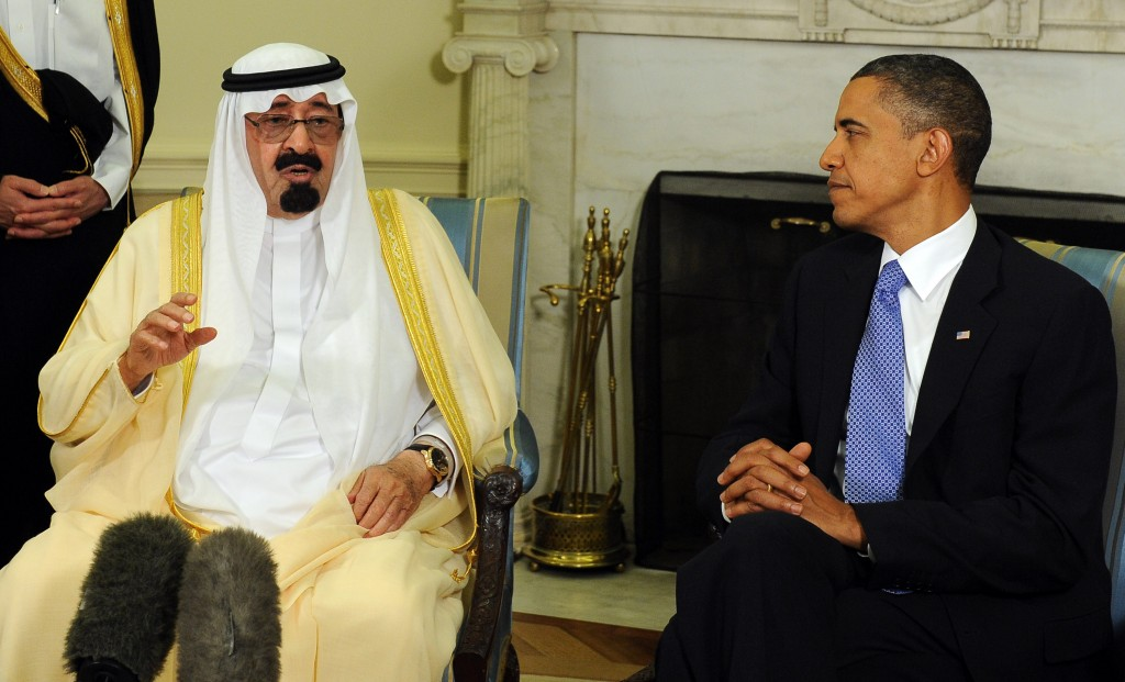 President Obama Meets With Saudi Arabian King Abdullah