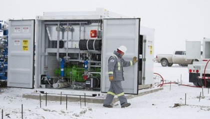 Capturing Methane to Fuel Drilling Operations