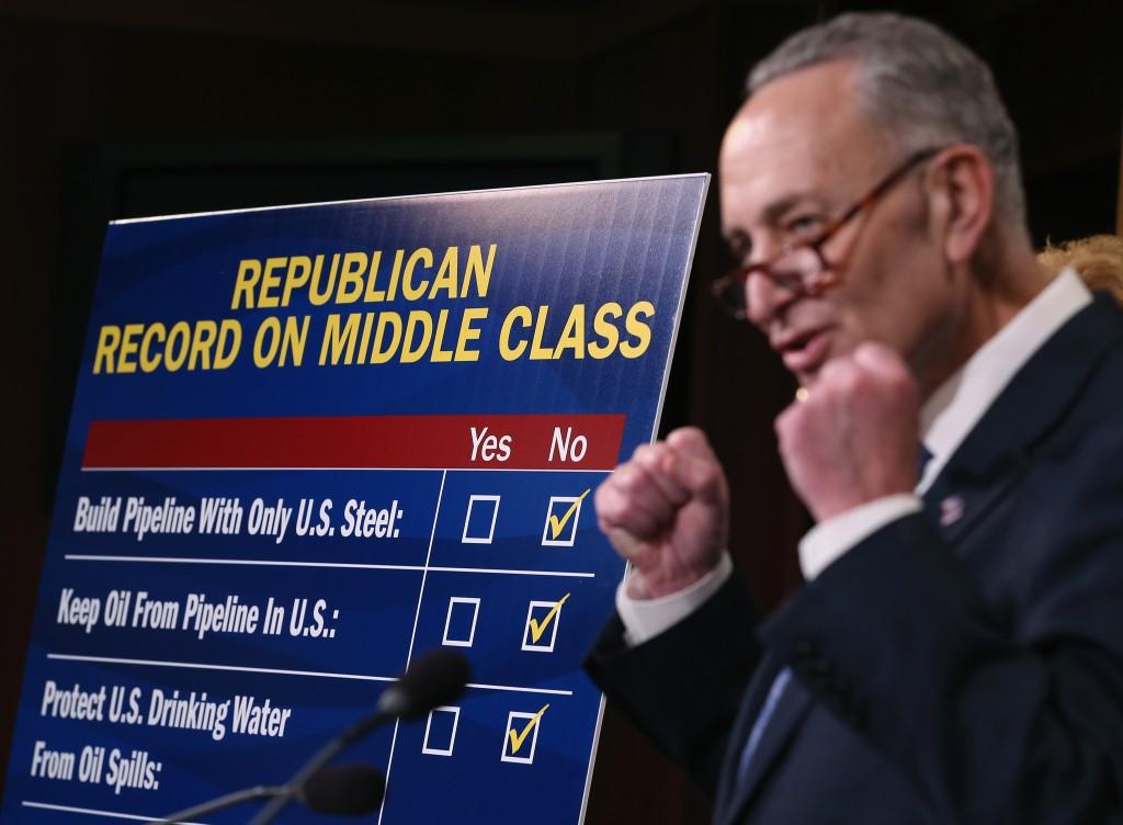 Senate Votes On Keystone XL Pipeline Bill