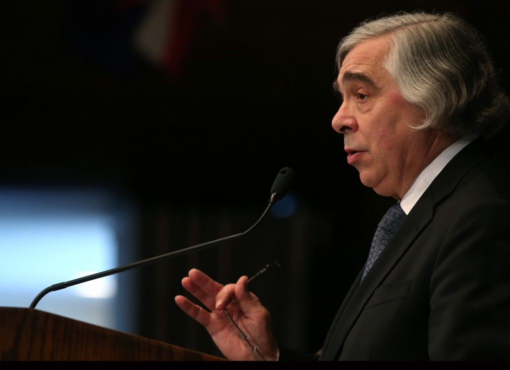 Energy Secretary Moniz Delivers Address On Energy Supply And Exports