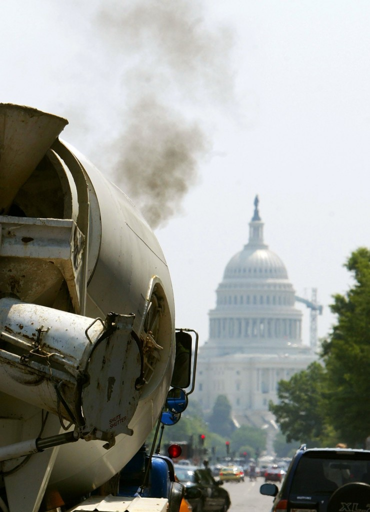 EPA's Michael Leavitt Signs Clean Air Nonroad Diesel Rule